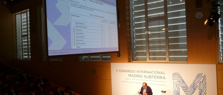 Aula o Cátedra Madrid Subterra en 2018, sobre los recursos energéticos del subsuelo