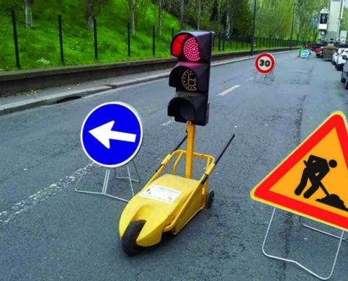 El semáforo de obra Millenium, de Lacroix Señalización, convence en Europa