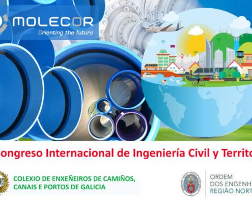 Molecor patrocina el III Congreso Internacional de Ingeniería Civil y Territorio. Galicia-Norte de Portugal