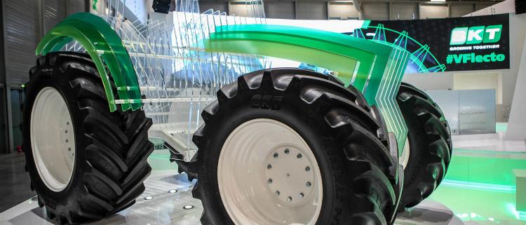 En esta edición 2017, BKT presenta en Agritechnica el nuevo neumático Flotation FL 637