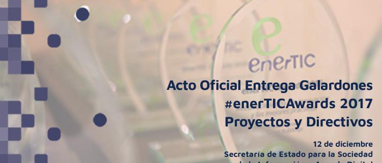 El próximo 12 de diciembre se hace entrega de los enerTIC Awards