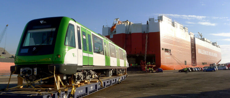 Alstom España envía los primeros trenes adicionales para la Línea 1 del Metro de Lima