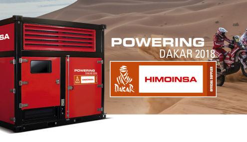 HIMOINSA, proveedor oficial de energía en el Dakar 2018