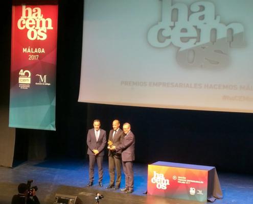 FYM HeidelbergCement recibe el Premio a la Trayectoria Empresarial