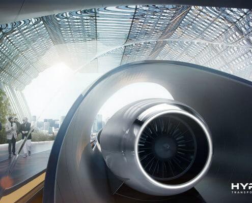 HTT colabora con Munich Re para asegurar Hyperloop