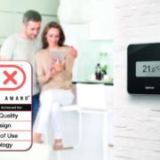 El termostato Uponor Smatrix Style recibe el premio Plus X