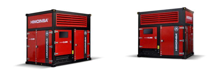 Nuevos grupos electrógenos HIMOINSA Power Cube con motor FPT