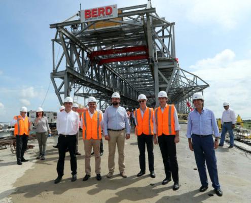 Una empresa española lleva a cabo las obras del Puente Pumarejo, en Colombia