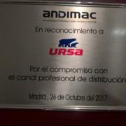 ANDIMAC reconoce el apoyo de URSA a su Canal Profesional de Distribución
