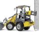 Perfeccionamiento de la cargadora eléctrica sobre ruedas WL20e