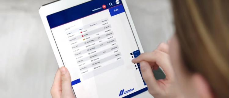 CEMEX presenta la plataforma digital CEMEX Go