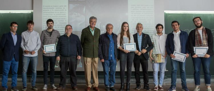 Entrega de premios de la II Edición del Concurso para estudiantes ANDECE