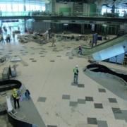 Proyectos de instalación de materiales pétreos en el Aeropuerto Internacional de Hong Kong