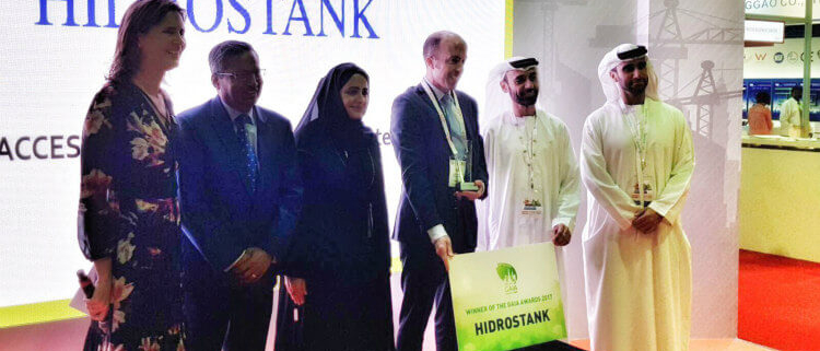 HIDROSTANK recibe el GAIA AWARD al producto más sostenible del año