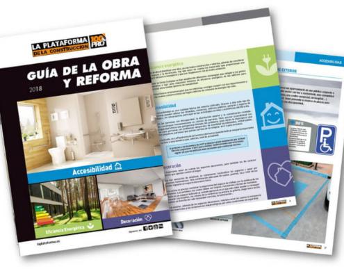 """LA PLATAFORMA DE LA CONSTRUCCIÓN presenta su nueva """"Guía de la Obra y Reforma 2018"""""""