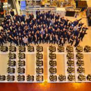 JCB celebra la producción de las 500.000 unidades de su motor