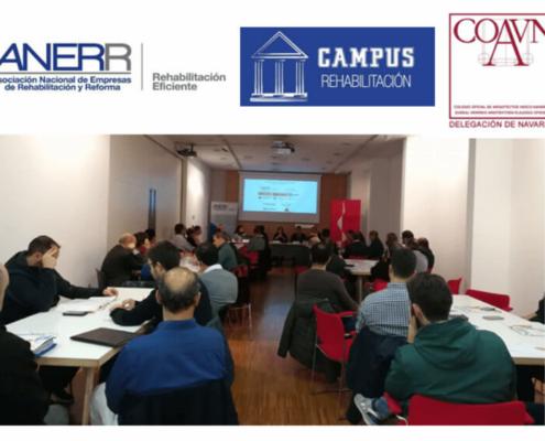 ANERR y el COAVN organizan la próxima Jornada Práctica del Campus de la Rehabilitación