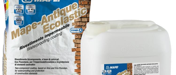 Mapei presenta el nuevo revestimiento Mape-Antique Ecolastic