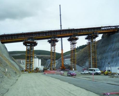 Sistemas de encofrado ULMA para el sistema ferroviario español