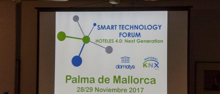 Clausura del Smart Technology Forum, organizado por Domotys y KNX España