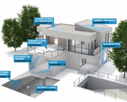 XPS como solución para el aislamiento de los edificios