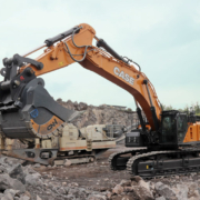 La CX750D ofrece gran productividad y fiabilidad en las canteras de basalto de Alemania