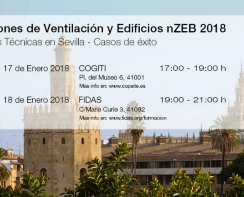 Siber ofrece dos jornadas técnicas en Sevilla sobre ventilación eficiente en EECN