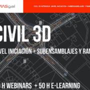 Curso Civil 3D: Iniciación e intermedio para el desarrollo de proyectos de ingeniería civil y topografía