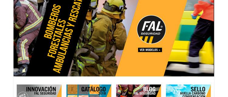 FAL Calzados de Seguridad estrena página web