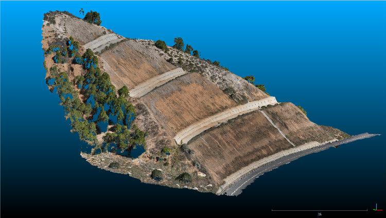 Proyecto de innovación en los trabajos de inspección de concesiones mediante tecnología UAV