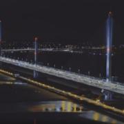 El puente Mersey Gateway en Liverpool se abre al tráfico