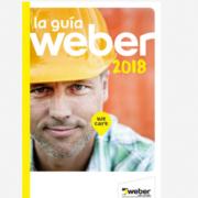 Guía Weber 2018: una nueva edición de soluciones para la construcción