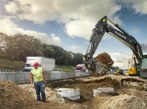 La Volvo ECR355E, un rendimiento de gran alcance
