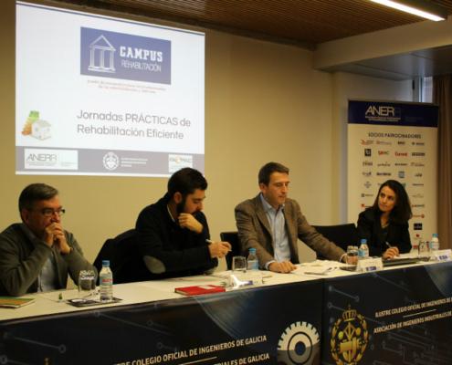 Jornada Nacional Práctica de ANERR: Actuaciones en rehabilitación y reforma en Galicia