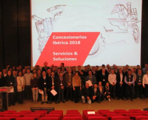 Manitou premia a sus distribuidores en la Convención Ibérica de Concesionarios 2017