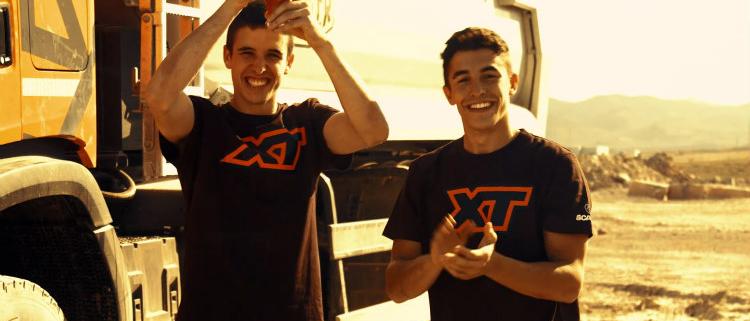 Los hermanos Márquez se enfrentan al primero de los retos XTCHALLENGES