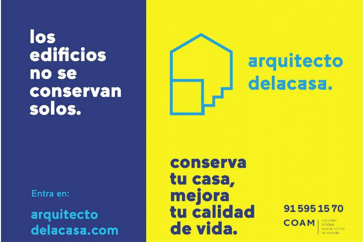 El COAM apuesta por la conservación de edificios con el Arquitecto de la Casa