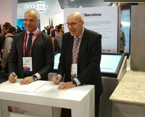Eurona y Mobile World Capital Barcelona impulsan el desarrollo de la tecnología 5G en la ciudad condal