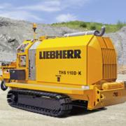 Liebherr presentará en Intermat su bomba de hormigón sobre orugas THS 110 D-K