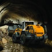 Cuatro palas cargadoras XPower de Liebherr disponibles en versión para túneles