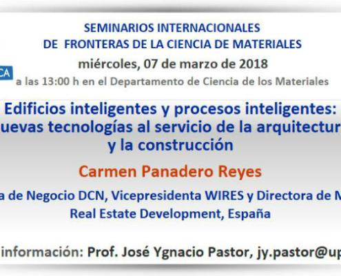 Seminarios Internacionales de Fronteras de la Ciencia de Materiales