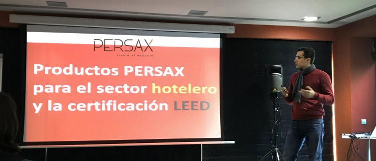 Soluciones Persax en la V Conferencia BioEconomic Certificación LEED