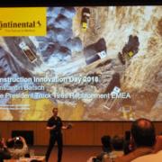 Neumáticos, servicios y soluciones Continental para la construcción en el Centro de demostración y aprendizaje de Caterpillar en Málaga