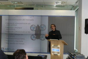 "Drones y movilidad en el 3º Workshop AECLab: ""Thinking of mobility. Thinking on the road"""
