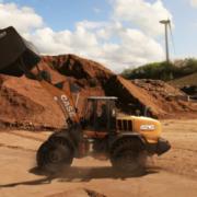 Nuevas manipuladoras de residuos CASE en Intermat 2018