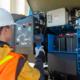 Genie Tech Pro Link y Mallas de Plataforma Genie Lift Guard en Intermat