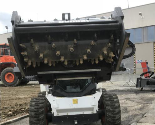 Bobcat amplía la gama de fresadoras con nivelación automática