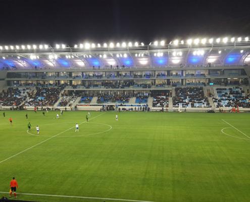 Nueva luminaria OMNIblast para instalaciones deportivas