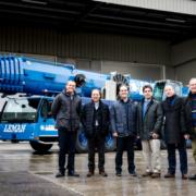 Grúas Leman moderniza su flota con tres nuevas grúas móviles Liebherr