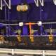 Instalación del molde MT20 para fabricar marcos de hormigón en India
